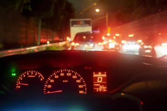 夜ドライブ