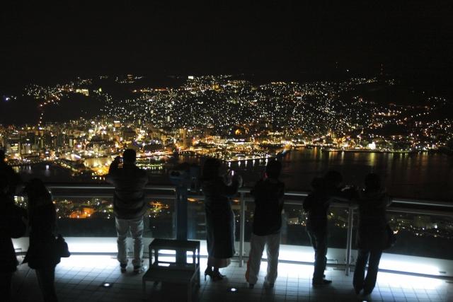 日本三大夜景 稲佐山