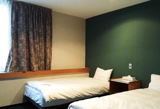 小樽グリーンホテルツインルーム